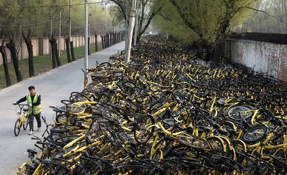 Image - Nine million bicyles: the popularity of bike shares has exploded in the past year