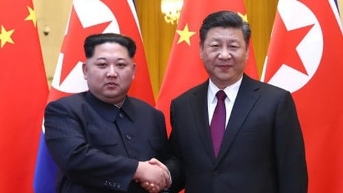 Kim reaffirms commitment to denuclearisation in meeting with Xi