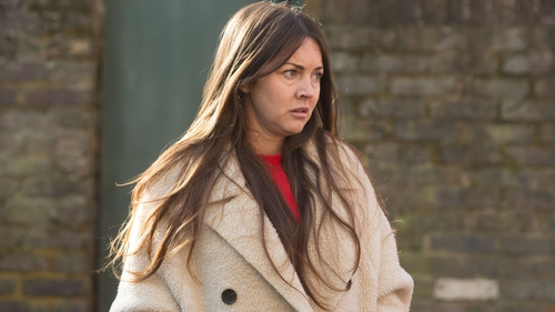 """Lacey Turner as Stacey - """"We've seen them both say horrible things to each other; they're both headstrong and will not back down"""""""