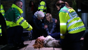 Aoife is frustrated at the slow speed of the investigation into Karen's murder on Fair City