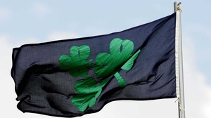 The Irish Cricket Union flag