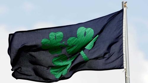 The Irish Cricket Union flag