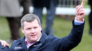 Gordon Elliott claimed the €100,000 handicap for the third year in a row