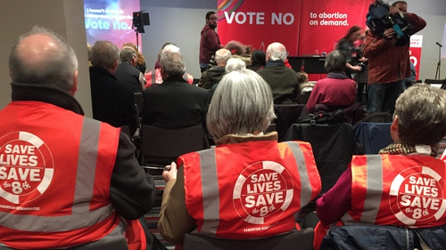 Save the 8th campaign was launched at the Gresham Hotel in Dublin