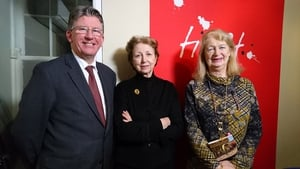 Jim Lucey (L) and Jean O Brien (R) join Olivia O Leary (centre) on this week's Poetry Programme