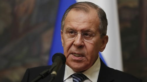 Sergei Lavrov said that 'serious experts' are questioning Britain's account of the crime