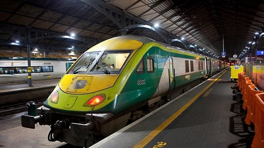Heuston train services disrupted after vandalism