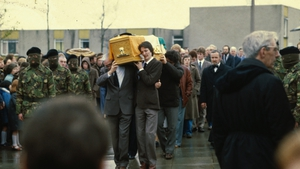 Bobby Sands died on 5 May 1981 and was buried in Milltown Cemetery, west Belfast