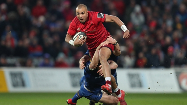 Earls is expected to return for Munster