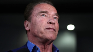 """Arnold Schwarzenegger: """"I really appreciate that very much and you're very kind""""."""