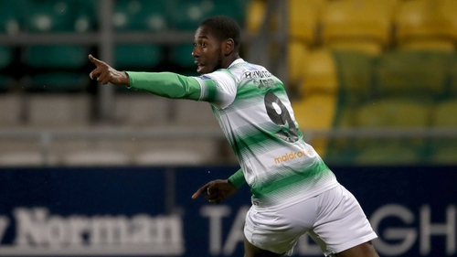 Dan Carr got the only goal of the game in Tallaght