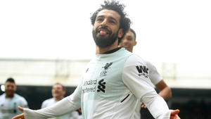 Mo Salah slotted home his 29th league goal of the season