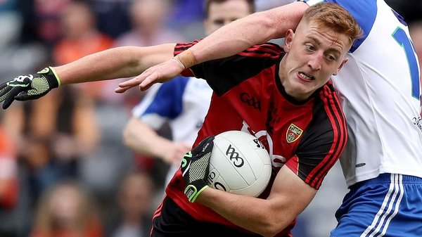 Sean Dornan helped drive Down to victory - but it wasn't enough