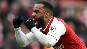 Alexandre Lacazette is back from a knee injury
