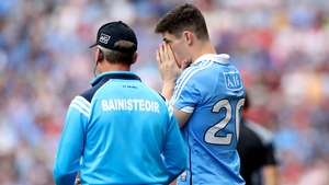 Diarmuid Connolly missed on Dublin's league final victory over Galway.