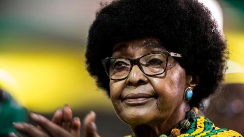 Winnie Mandela was an anti-apartheid campaigner