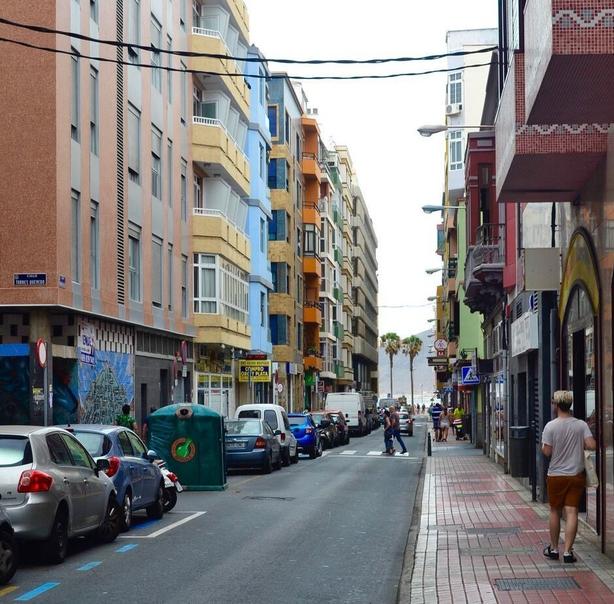 street las palmas