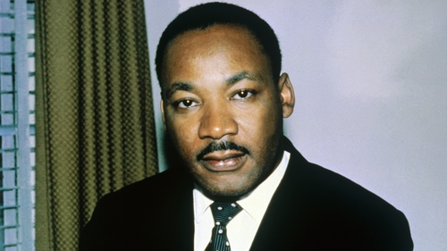 Martin Luther King: delineates two forces between which he finds himself standing