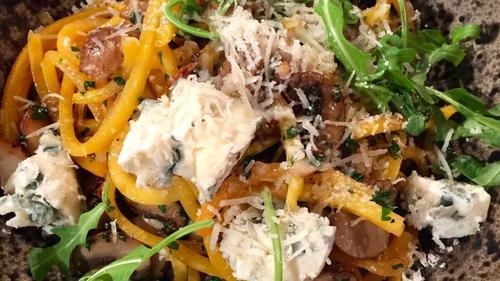 Ali Honour's Gorgonzola & Pumpkin Pasta