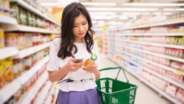 Shoppers making a 'quick trip' to the supermarket end up buying over 50% more than they had anticipated.