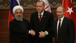 The three leaders insist their talks are not an alternative to a UN backed Syria peace plan