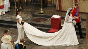 Kate Middleton wore Alexander McQueen for her wedding day