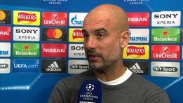 "Pep Guardiola - ""No regrets or complaints about result"""