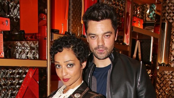 Ruth Negga and Dominic Cooper photographed at an event in London in November 2017