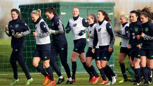 The Republic of Ireland Women's team sit joint-top of Group 3 with seven points