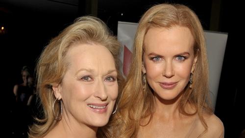 Meryl Streep and Nicole Kidman are now co-stars