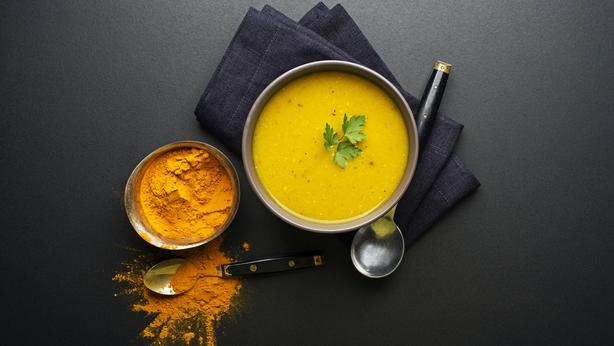 Turmeric and soup