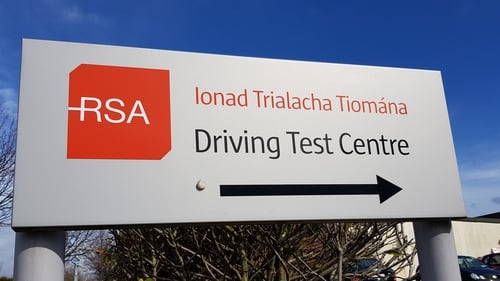 The committee heard that almost 100,000 people are waiting for a driving test
