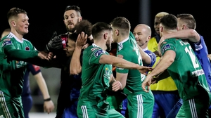 Tempers flare at the RSC in Waterford