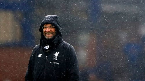 Jurgen Klopp: 'We were not here to play a wild derby, that would not make sense.'