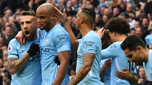 Manchester City were crowned Premier League champions on Sunday