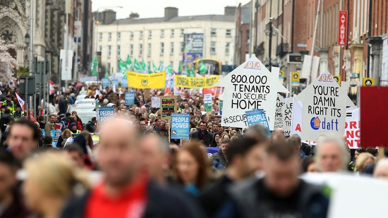 The coalition is made up of an umbrella group of trade unions, community groups, NGOs and charities among other groups