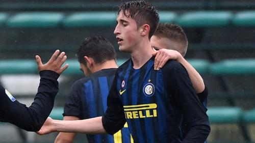 Ryan Nolan has joined the senior ranks at Inter Milan