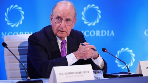 Former US senator George Mitchell chaired the talks that led to the Good Friday Agreement