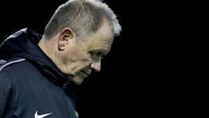 Dave Mackey has left Bray Wanderers