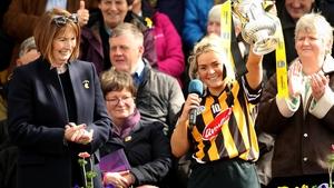 Kilkenny captain Shelly Farrell.