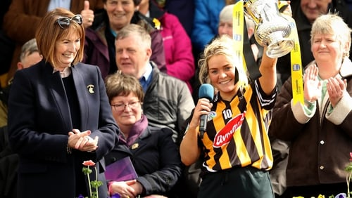 Kilkenny captain Shelly Farrell.