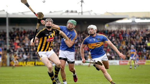 Walter Walsh terrorised the Tipperary defence in the second half