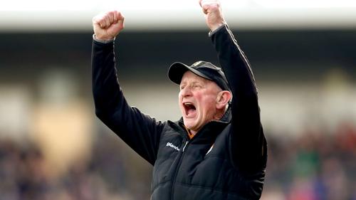 Brian Cody celebrates Kilkenny's win against Tipp