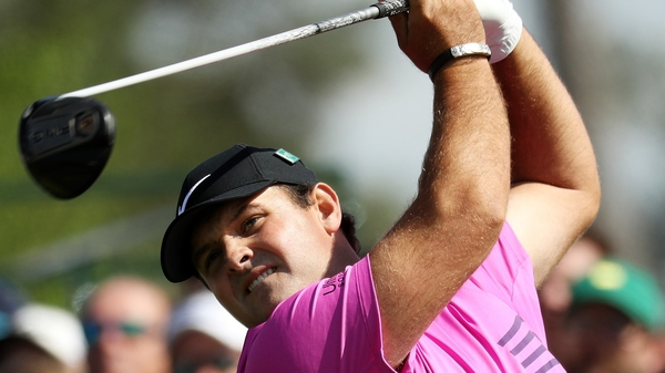 Patrick Reed in action at Augusta