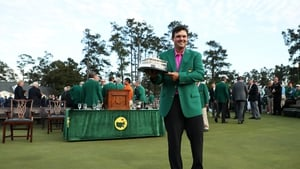 Patrick Reed will defend his Masters title defence next month
