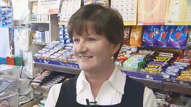Gort shopkeeper Mary Calanan (2008)