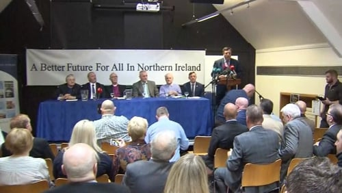 UVF, UDA and Red Hand Commando issued a joint statement in Belfast
