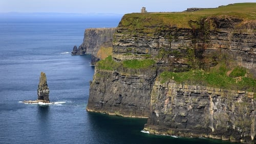 The body was flown to Doolin where the helicopter crew was met by Coast Guard members and gardaí (File image)