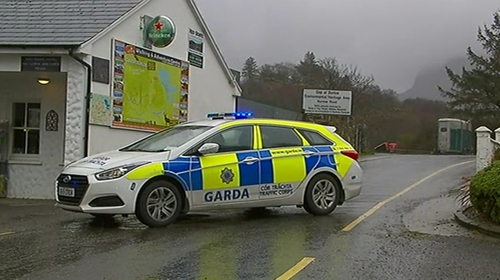 The accident happened at around 2pm on a stretch of road between Kate Kearney's Cottage and the Gap of Dunloe