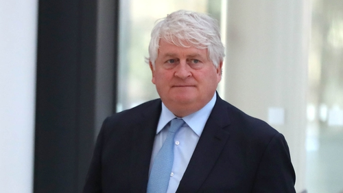 Denis O'Brien is also appealing against an order directing him to pay the costs of his case